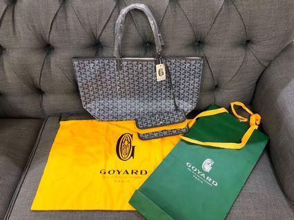 Authentic Goyard St Louis PM Tote Bag