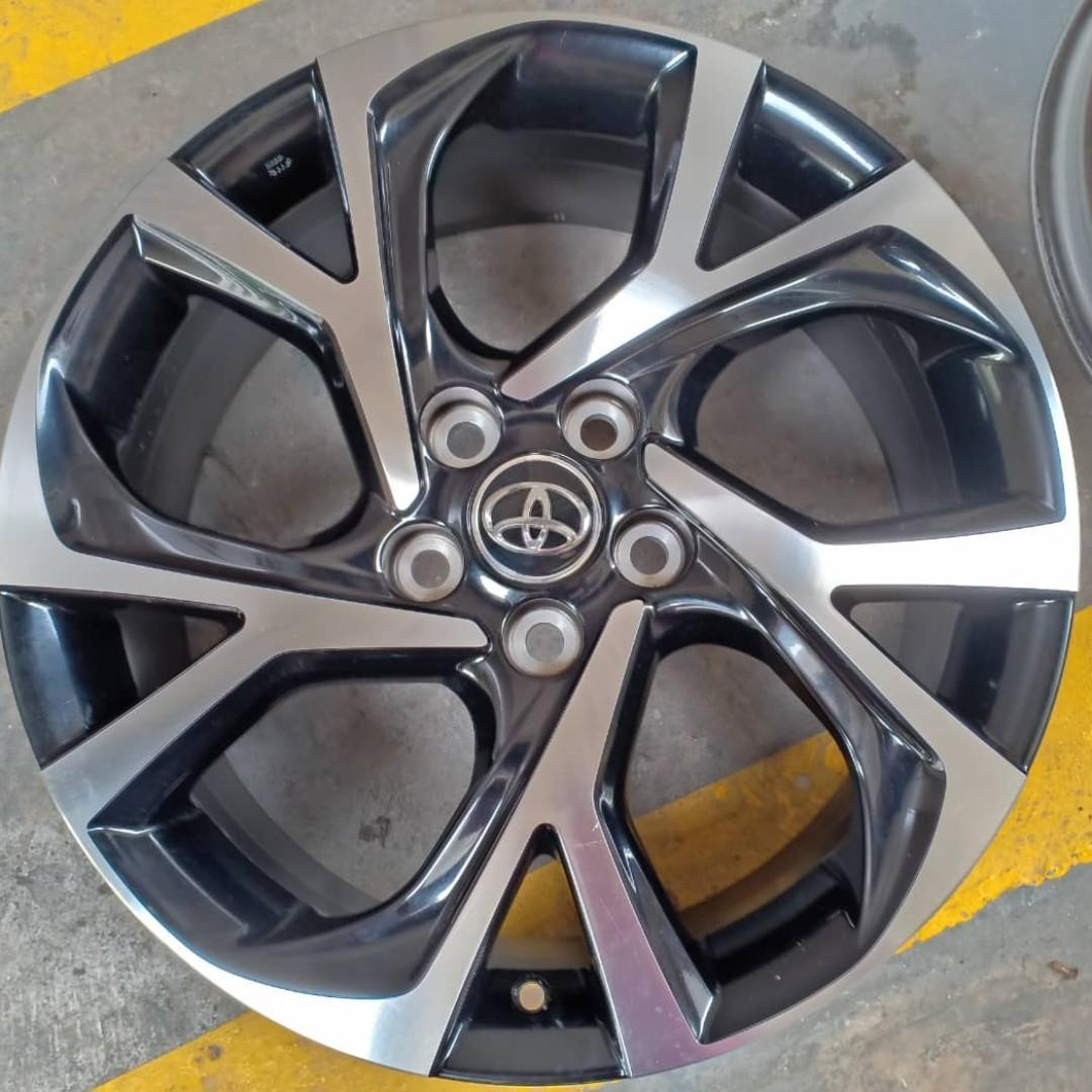 "18"" Toyota OEM rims"