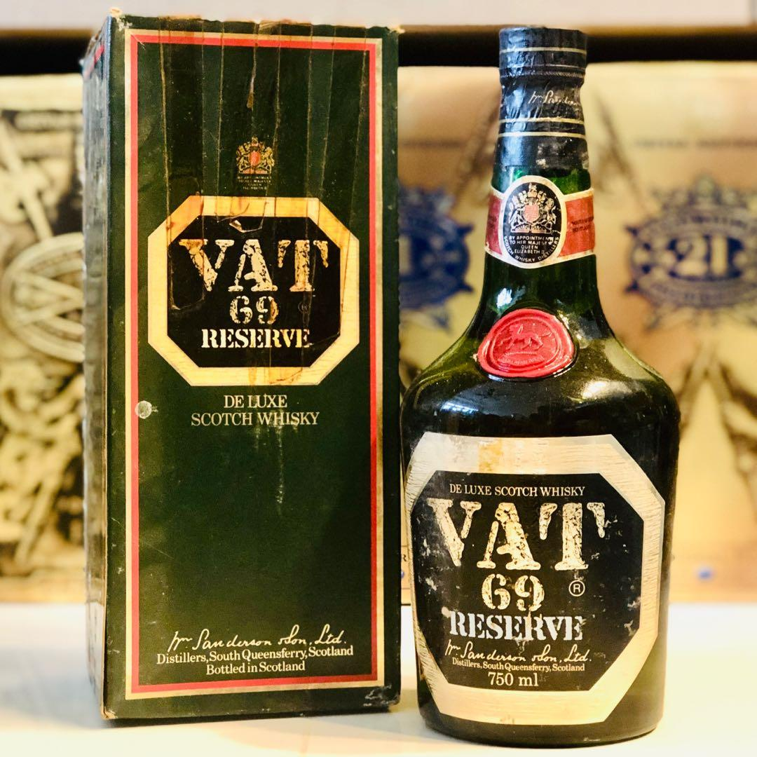 1970 VAT69 Reserve Scotch Whisky 750ml