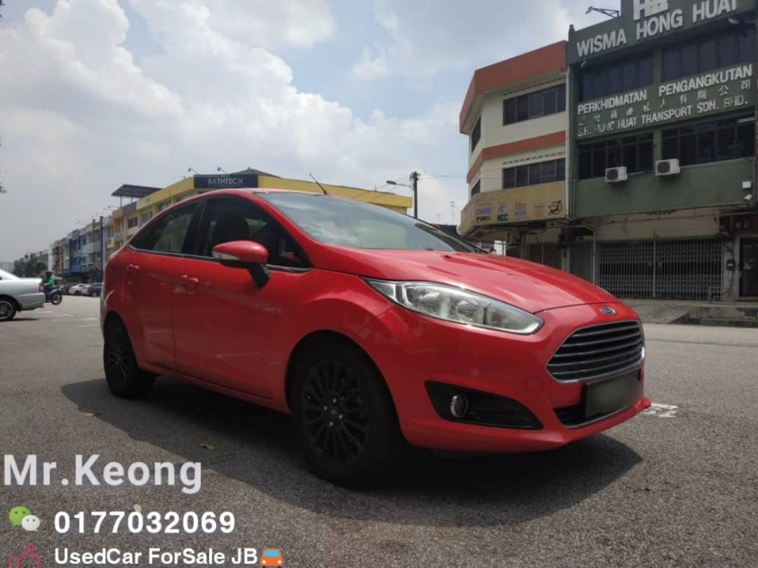 2013TH🚘FORD FIESTA 1.5AT NEW FACE-LIFT TITANUM HIGH LOAN🎉OfferPrice💲 Rm2X,Xxx Only Bulanan RM390 Only‼ LowestPrice InJB 🎉Call📲KeongFor More🤗