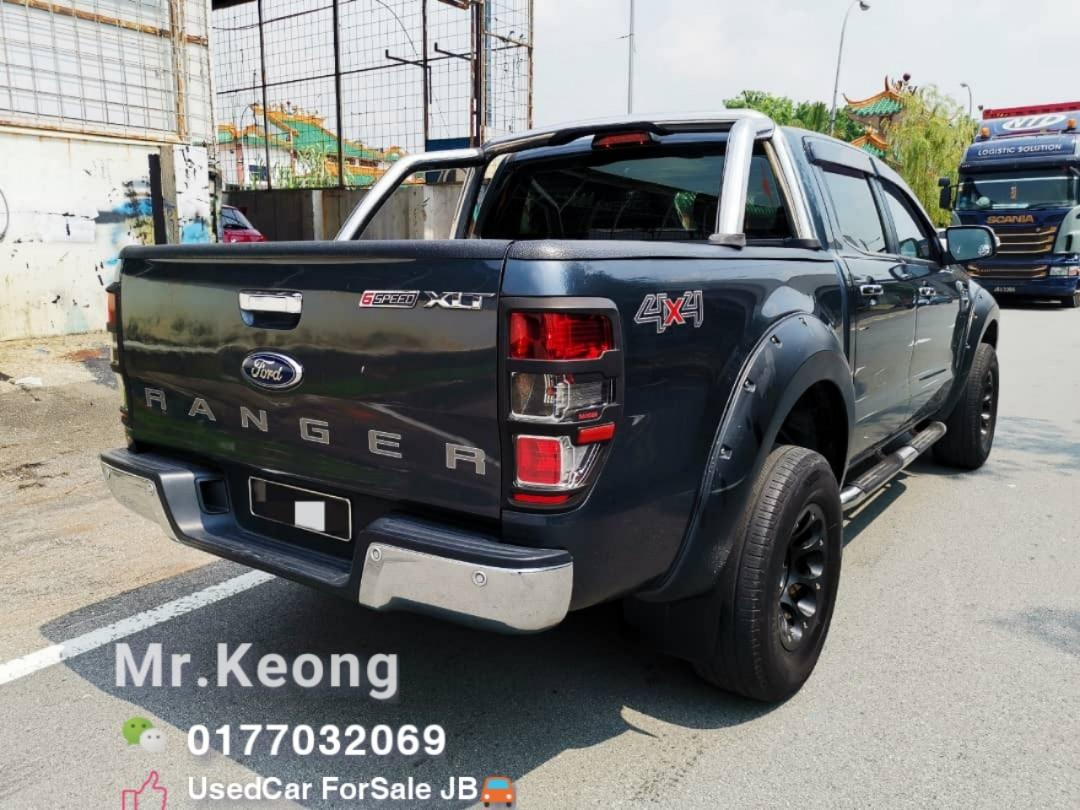 2015TH🚘FORD RANGER 2.2AT XLT 6 SPEED 4X4 (HI RIDER)Carking/Full Loan NEW MODEL Cash💰OfferPrice💲Rm67,800 Only‼LowestPrice InJB‼Call📲 KeongForMore🤗