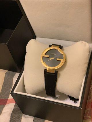 Gucci手錶(男女適用款)(附吊牌、錶盒)