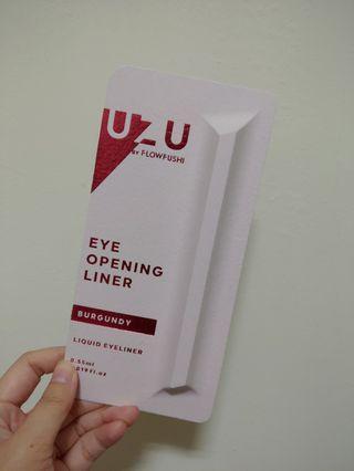 日本 新一代  UZU EYE OPENING LINER 大和匠筆 眼線液筆 #burgundy(酒紅)