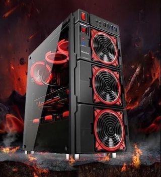 直播電競主機 14核心28執行序 16GB RX580 8G intel AMD