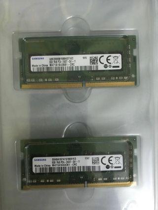 Samsung 8gb ddr4 2400mhz laptop memory