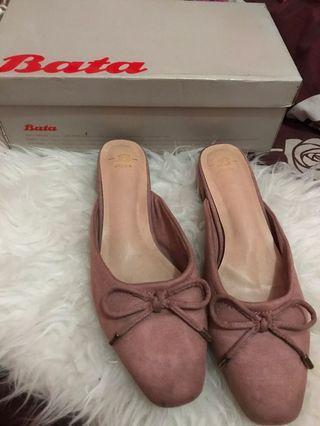 Bata flatshoes pink nude