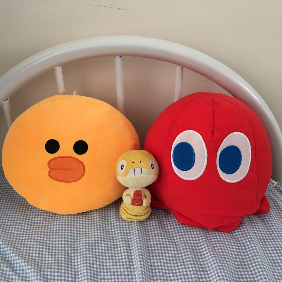 30cm tall Blinky pacman ghost plushie stuffed plush toy