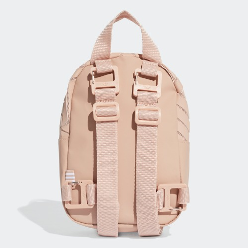"""3D MINI BACKPACK"" Adidas Originals 全新 三宅一生 粉色 裸色 迷你 背包 後背包 肩背包 書包 迷你後背包 EK2890"