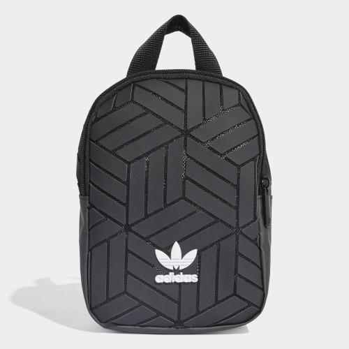 """""""3D MINI BACKPACK"""" Adidas Originals 全新 三宅一生 黑色 迷你 背包 後背包 肩背包 書包 迷你後背包 EK2889"""