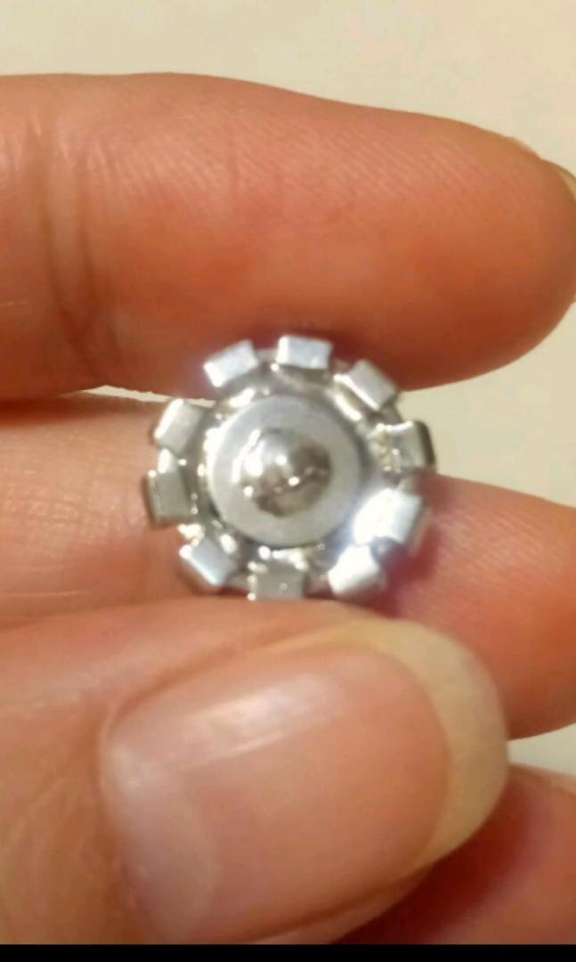 🌹美國帶回 高檔爪鑲水晶鑽鈕釦10顆