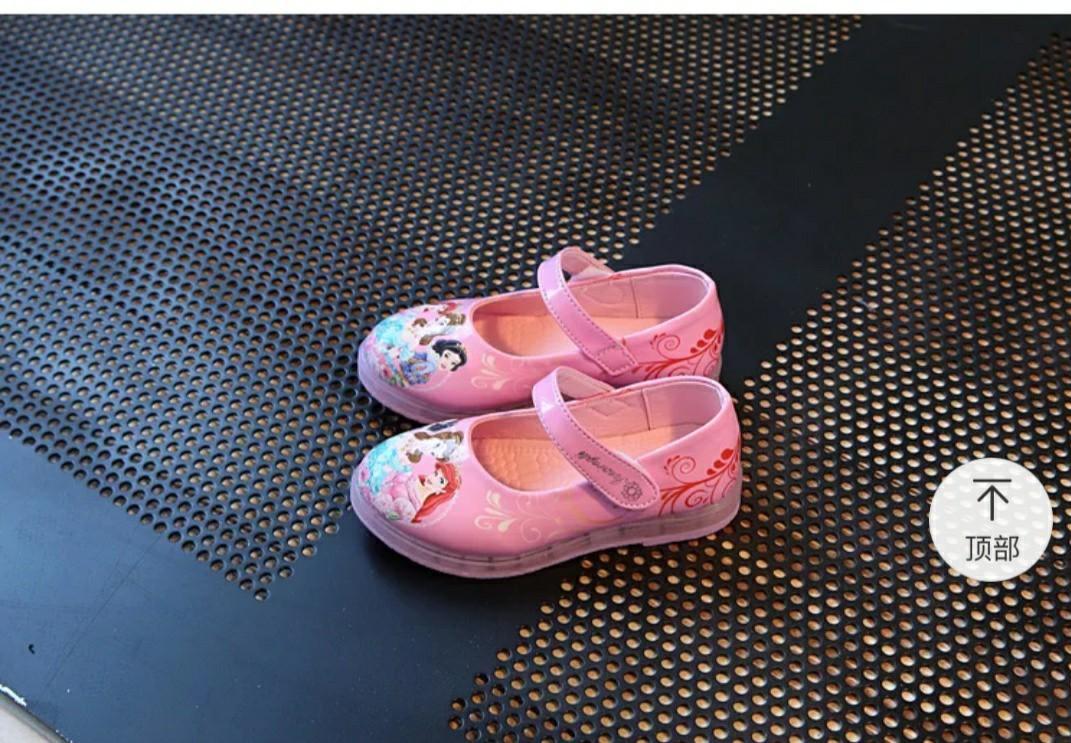女童閃燈公主鞋
