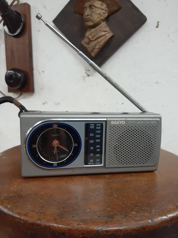 中古懷舊 三洋 收音機時鐘