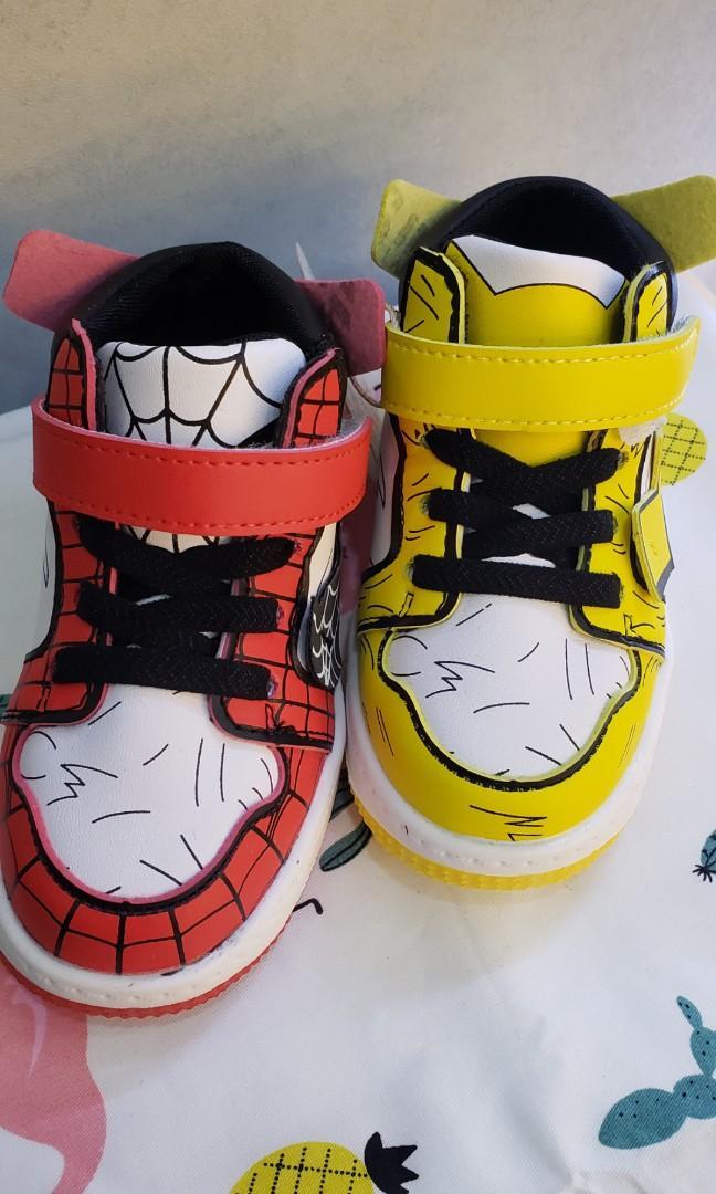高通  男童 蜘蛛俠 比卡超波鞋