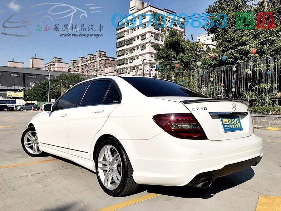 一手機車用車 超少開 僅跑七萬Km非英哩 2013年 BENZ C250 外觀新 內裝超漂亮 全額貸月付五千起!