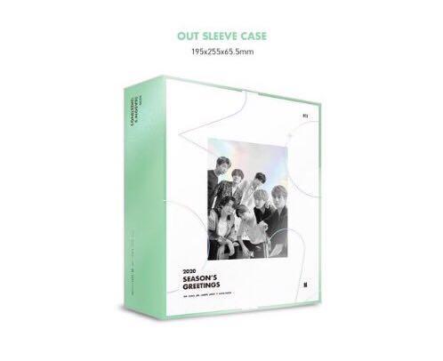 [ Pre - Order / Loose Items ] BTS' 2020 Season's Greetings & Wall Calendar