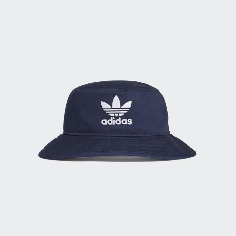 """ADICOLOR BUCKET HAT"" Adidas Originals 全新 深藍色 漁夫帽 遮陽帽 運動帽 球帽 帽子 ED9384"