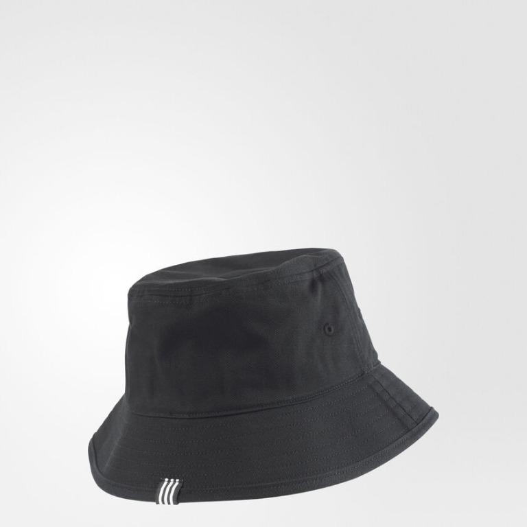 """ADICOLOR BUCKET HAT"" Adidas Originals 全新 黑色 漁夫帽 遮陽帽 運動帽 球帽 帽子 BK7345"