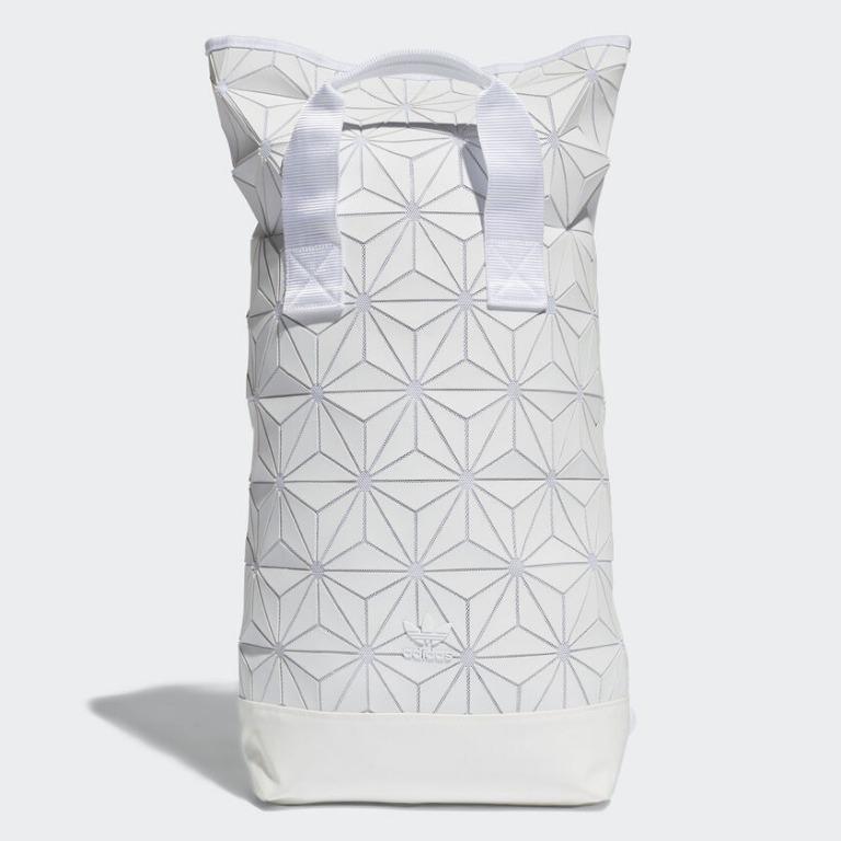 """""""adidas 3D Roll Top Backpack - Black"""" Adidas Originals 全新 三宅一生 白色 筆電夾層 運動 休閒 背包 後背包 肩背包 書包 BJ9562"""