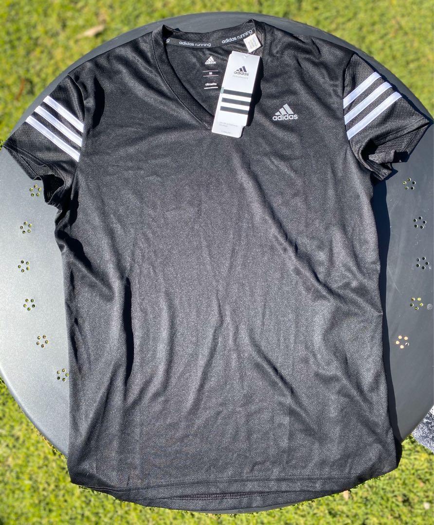 Adidas Climalite Women's Top - Black & White - Medium