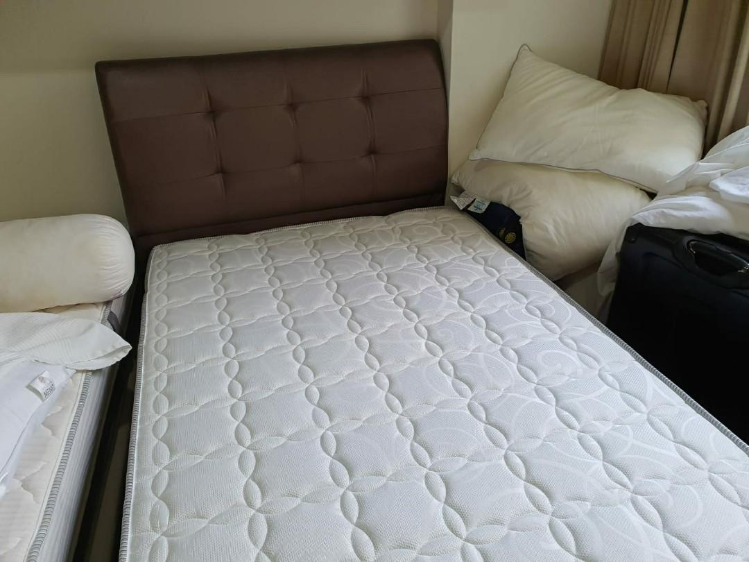 Almost New Storage Bed with Mattress