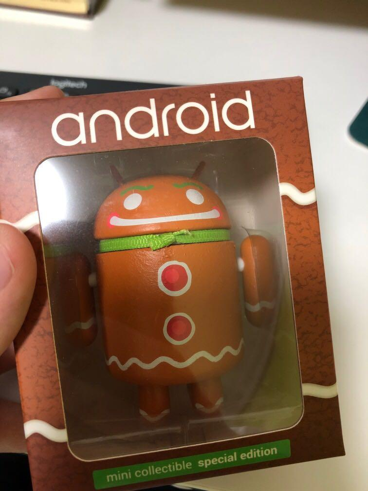 Android Gingerbread Toy