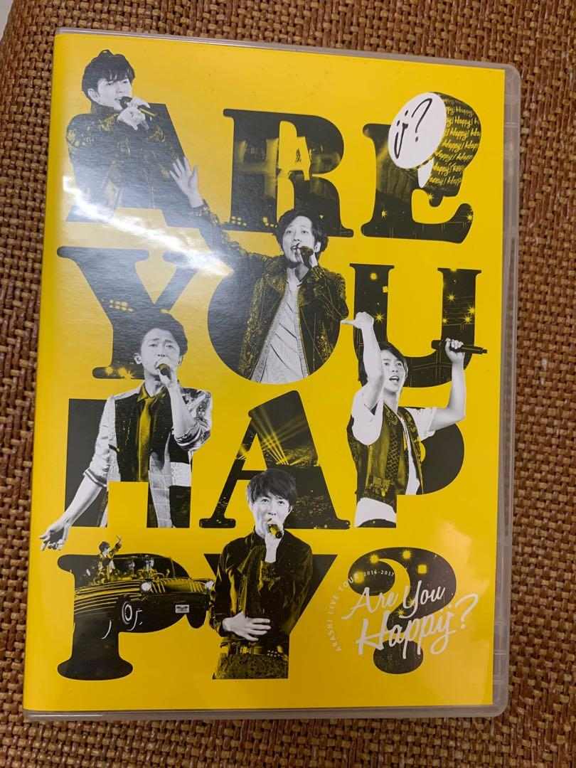 "Arashi ""Are you happy"" Live tour DVD通常盤"