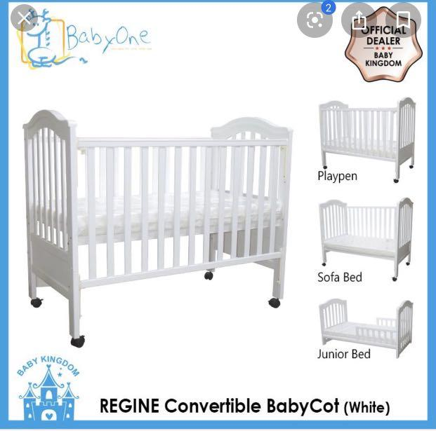 Baby Crib - Very good condition - Need to clear to move house