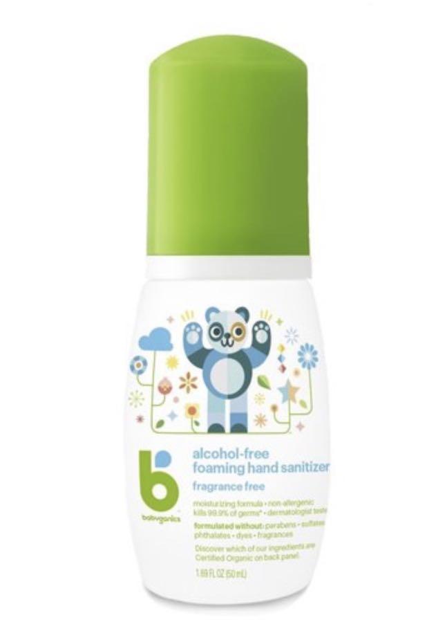 BabyGanics 消毒搓手液 無香味 50ml 輕便裝