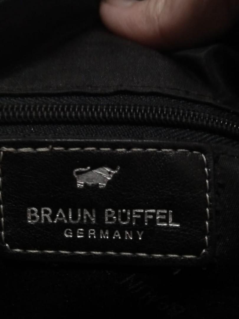 Tas hitam Braun buffel (Authentic)