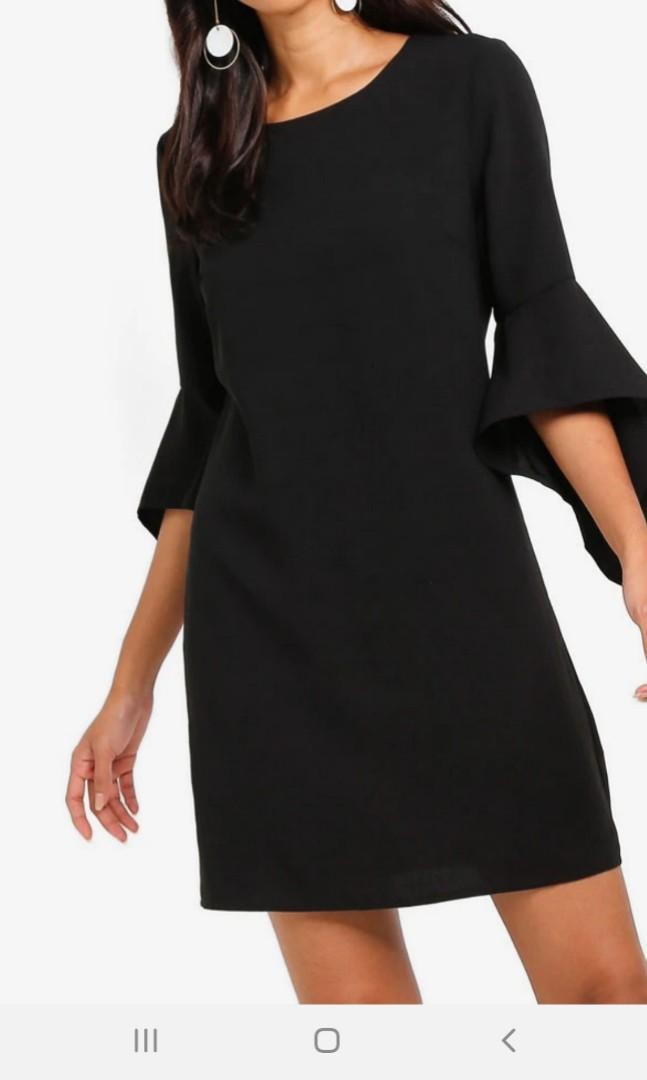 Black Midi Dress #promosidress