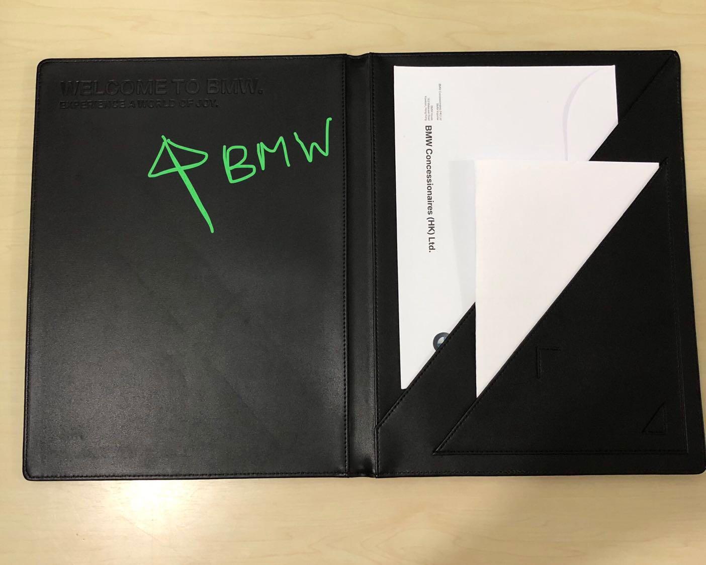BMW A4 Folder black color
