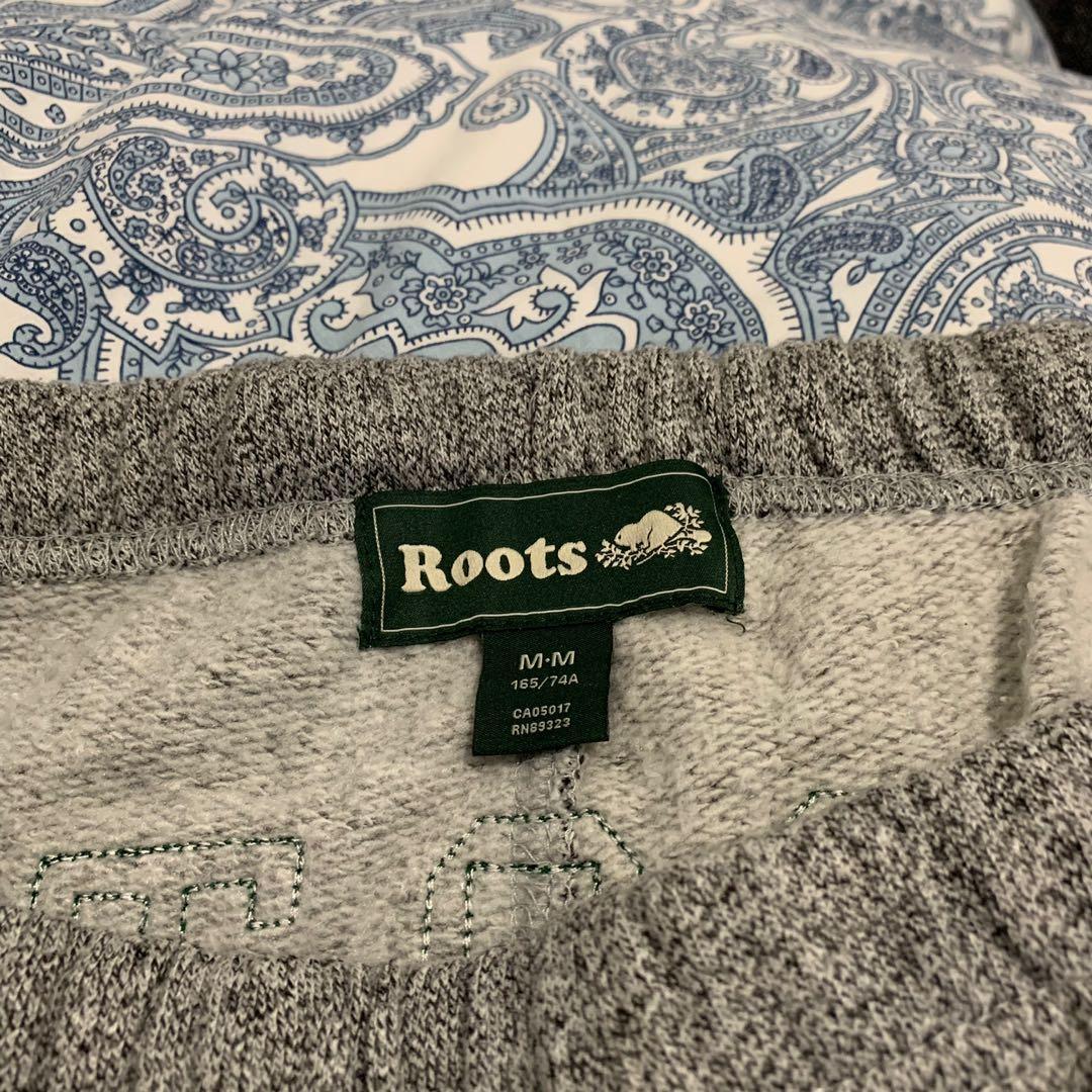BNWOT Roots Women's Salt & Pepper Original Boyfriend Sweatpants - Sz M