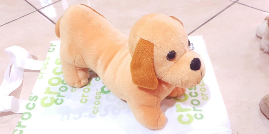 Boneka Anjing Peking Coklat Muda Bayi Anak Mainan Baby Walker Di Carousell