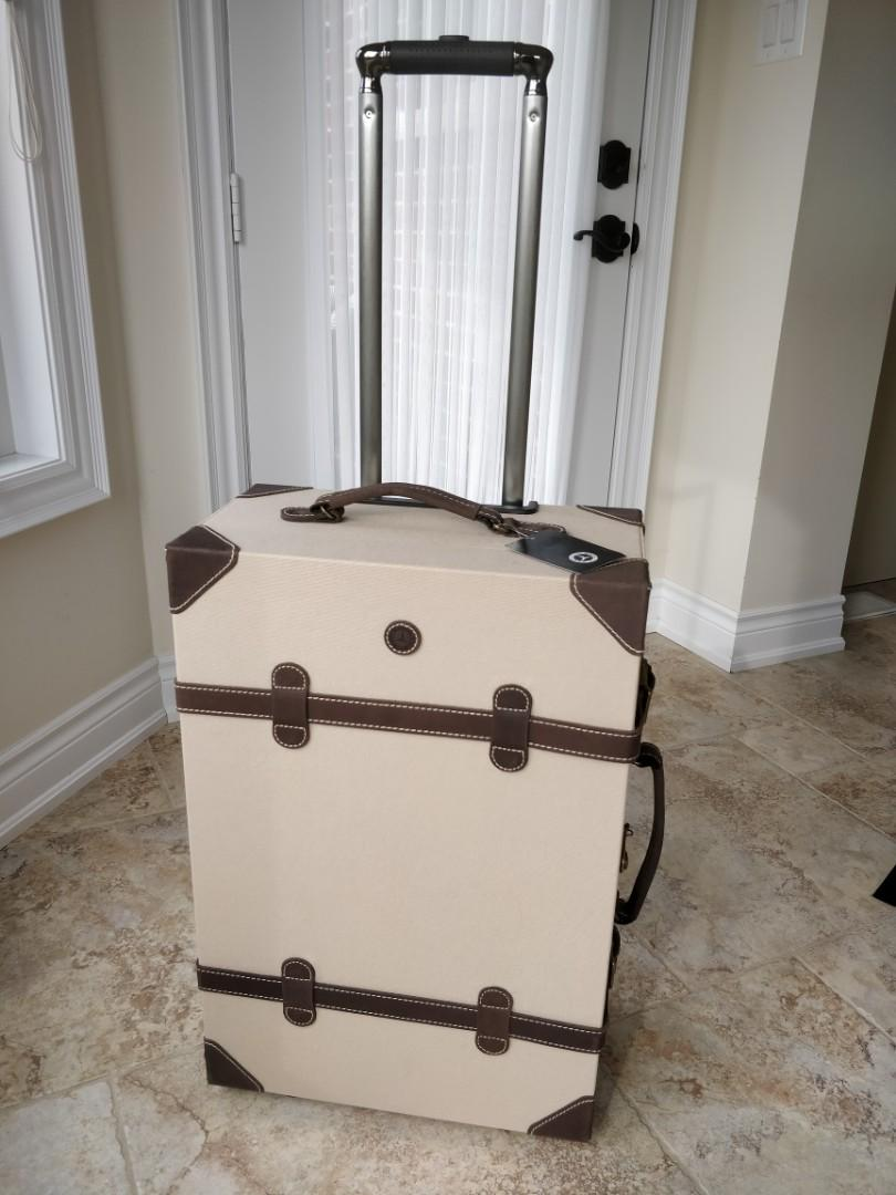 BRAND NEW Mercedes Benz old fashion style suitcase
