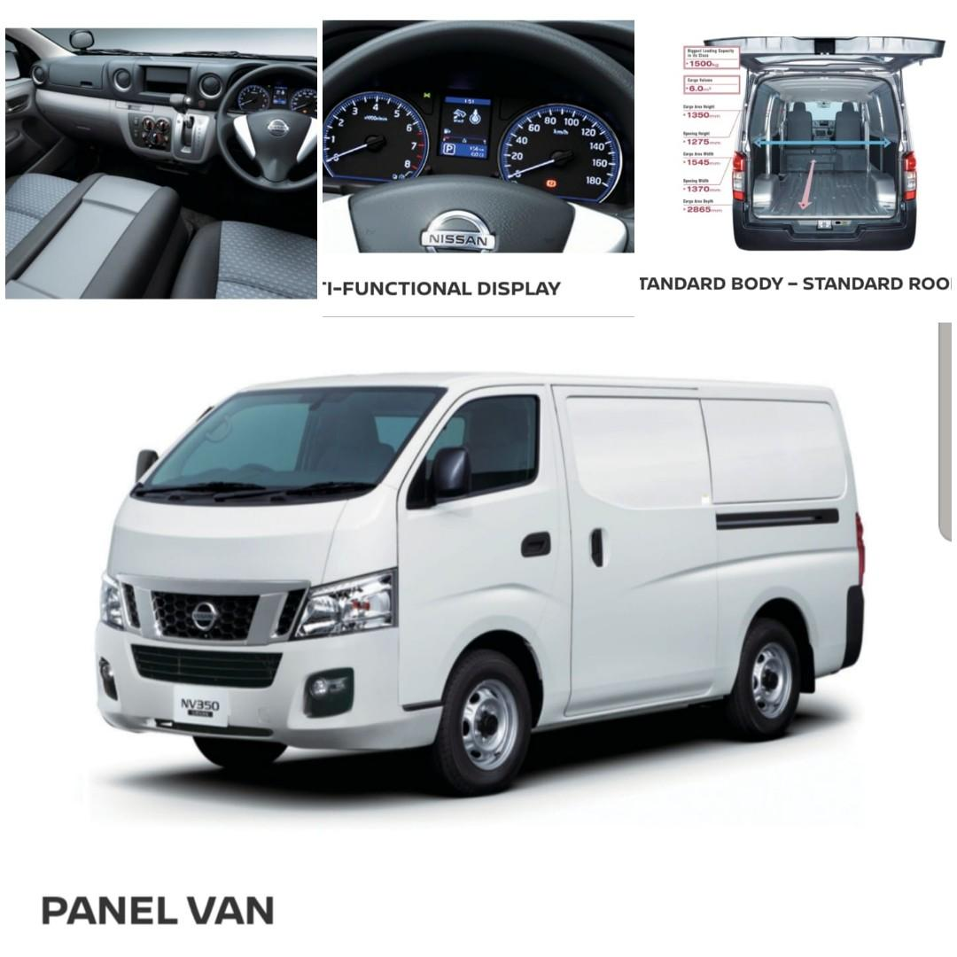 Brand New NV350 Auto Commercial Vehicles for Lease