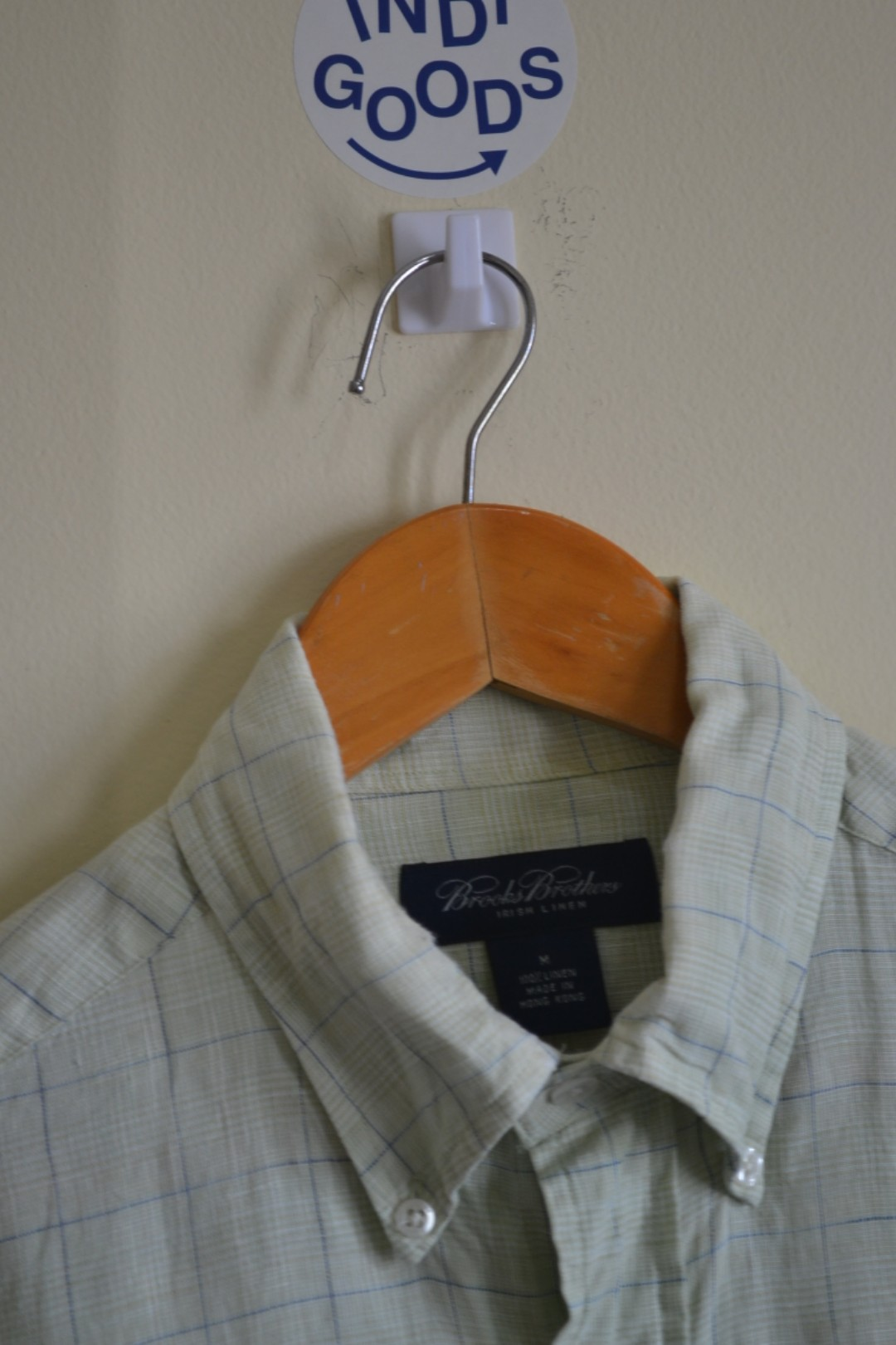 Brooks Brothers Broken White Button Down Shirt