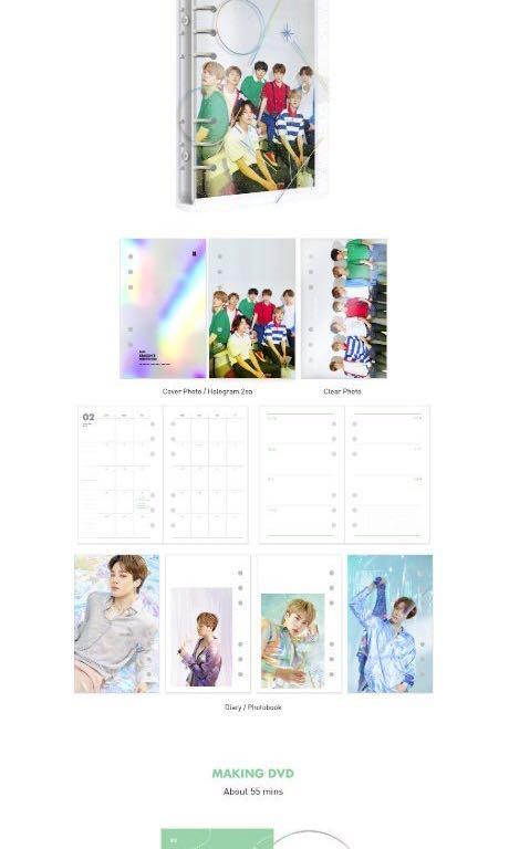 [LOOSE] BTS 2020 SEASONS GREETINGS