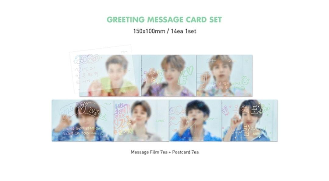BTS Season Greeting 2020 Member Set