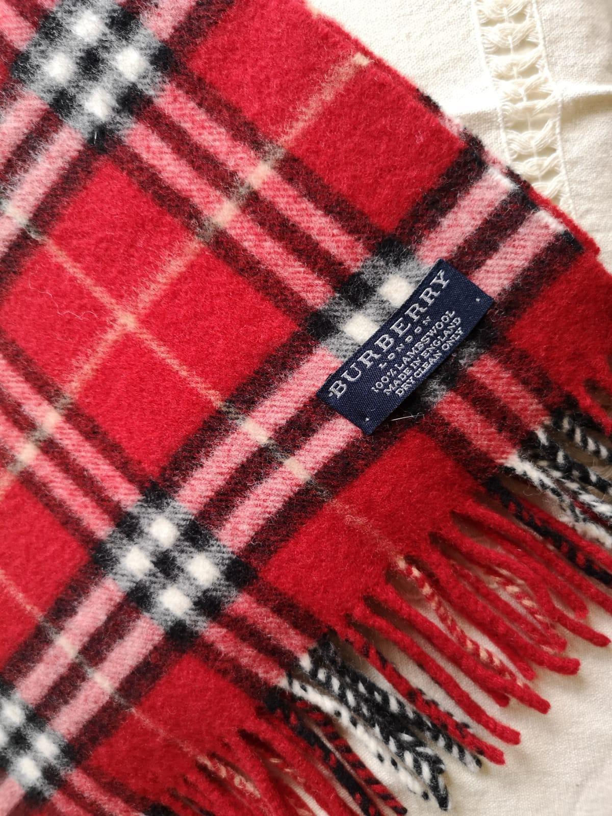 (特長)Burberry Vintage Scarf 頸巾圍巾