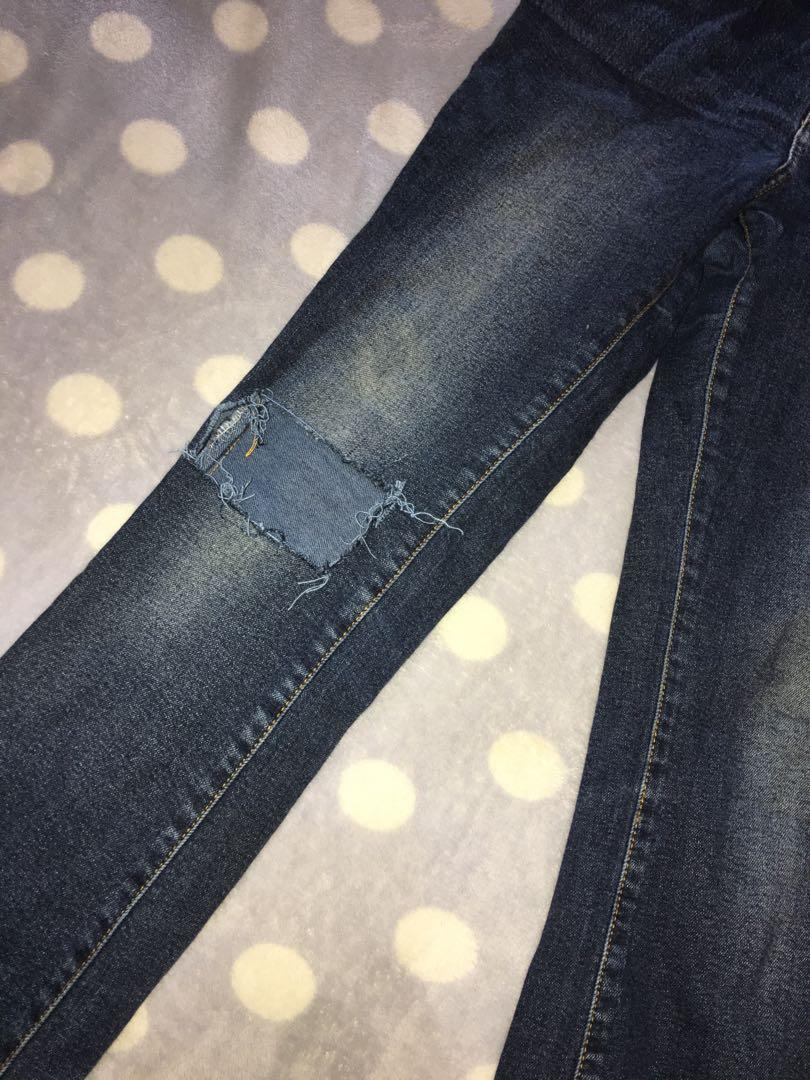 C2 ripped jeans