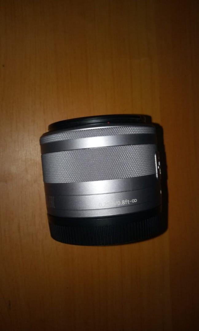 canon zoom lens EF-M 15-45mm