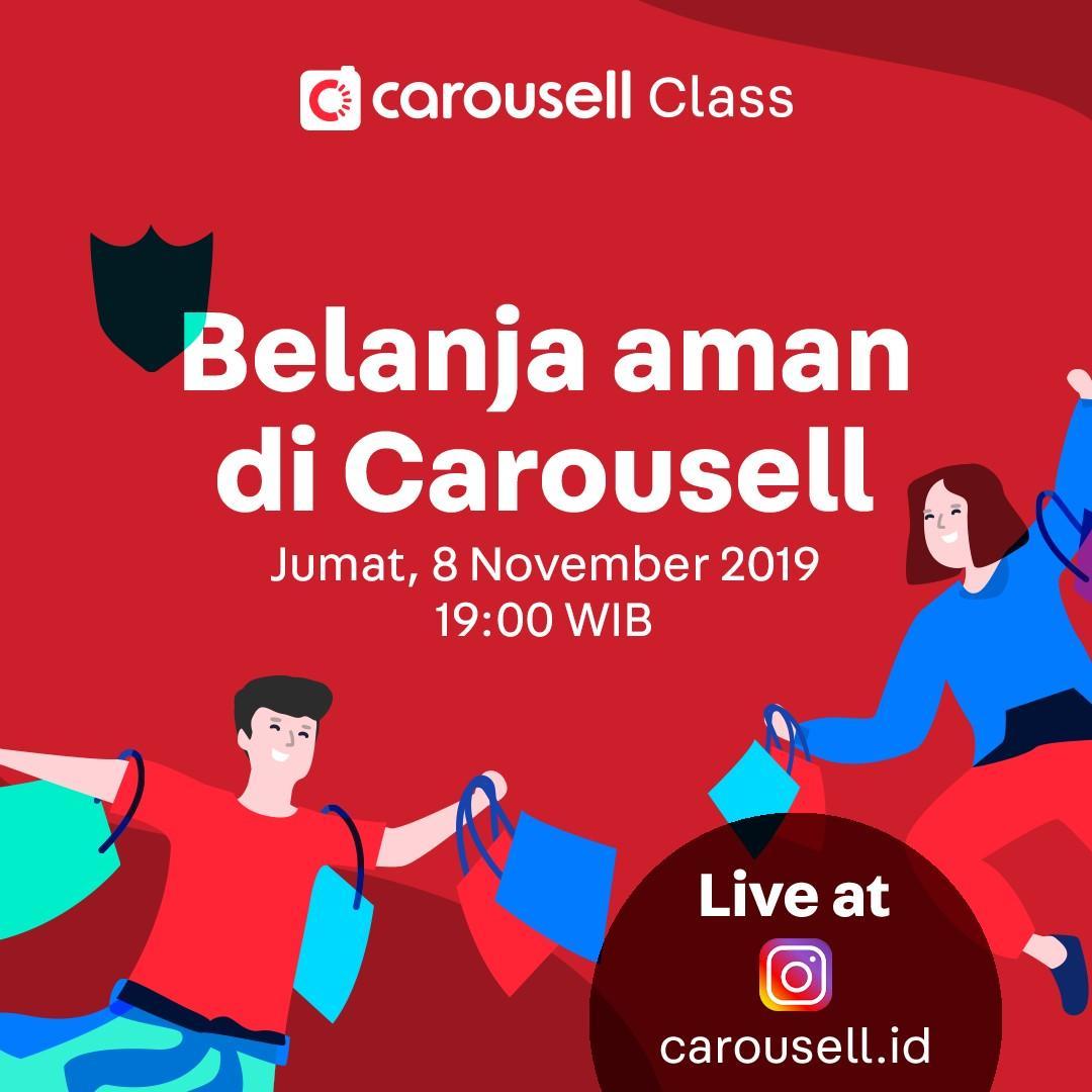 Carousell Class - Belanja Aman di Carousell
