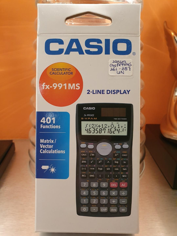 Casio Scientific Calculator(401 functions)