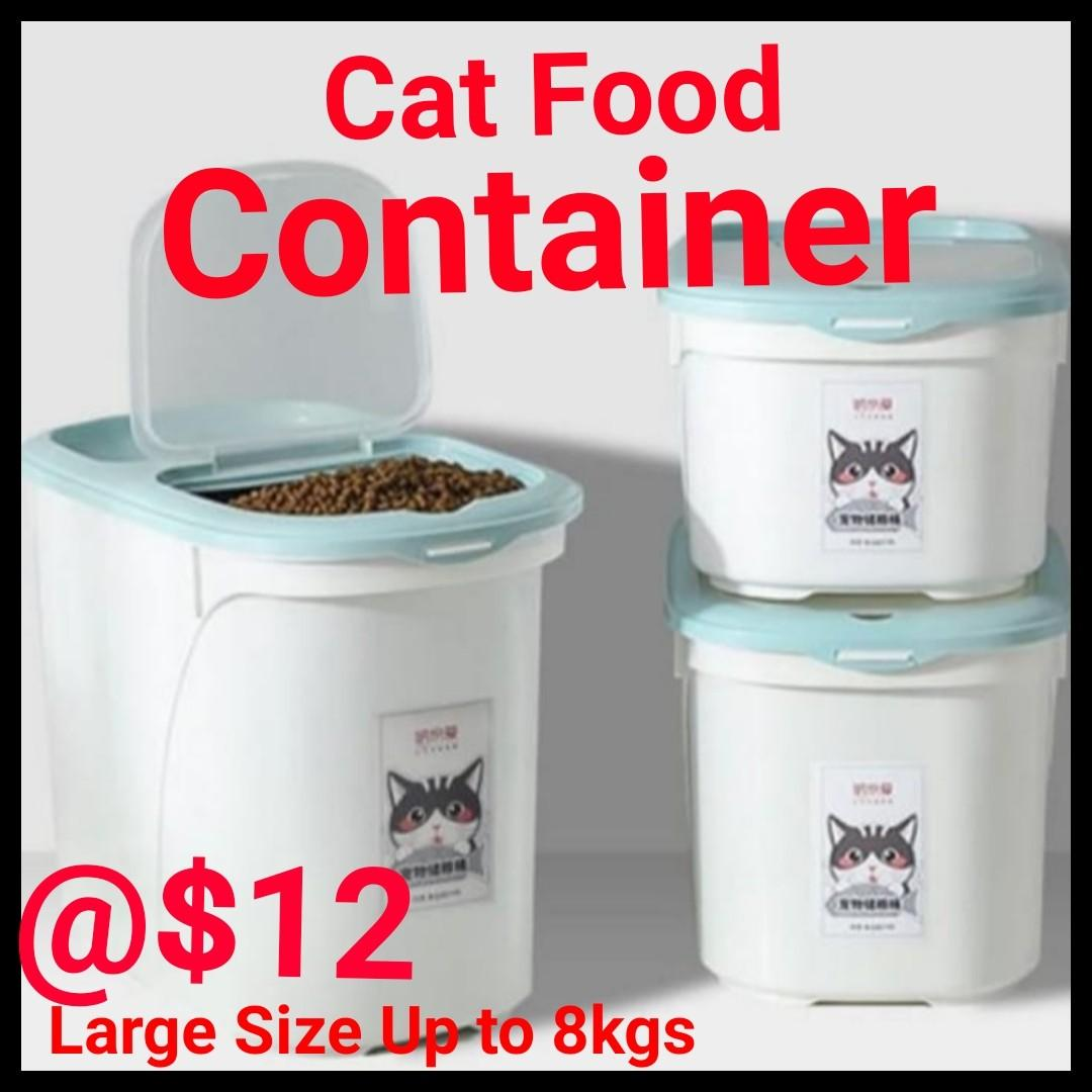 Cat Food Container Non Air Pack Great Quality for your DRY FOOD