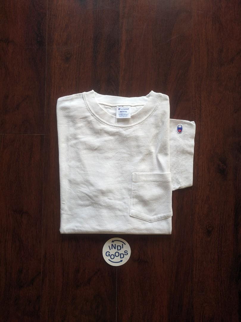 Champion Basic Pocket Tee White Colorways