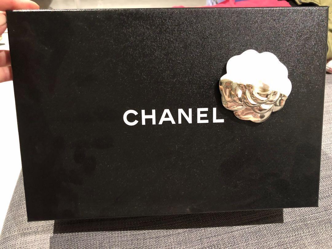 Chanel Nude black Slingback