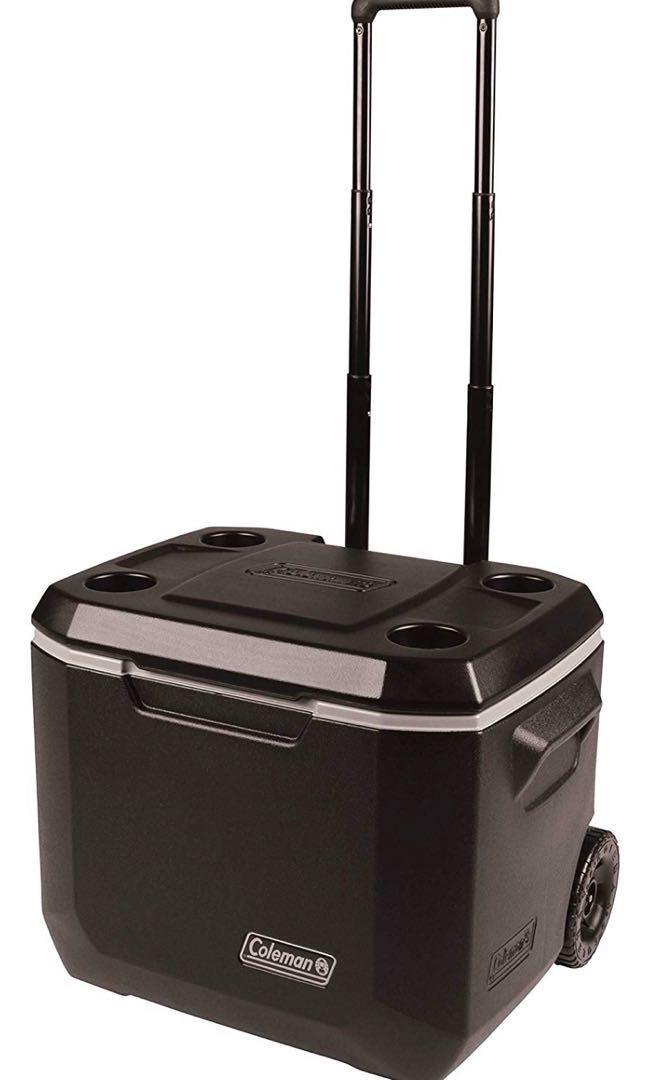 Coleman Wheeled Cooler box - 50 Quart