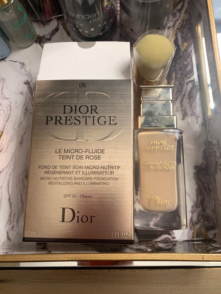 Dior prestige foundation 0N