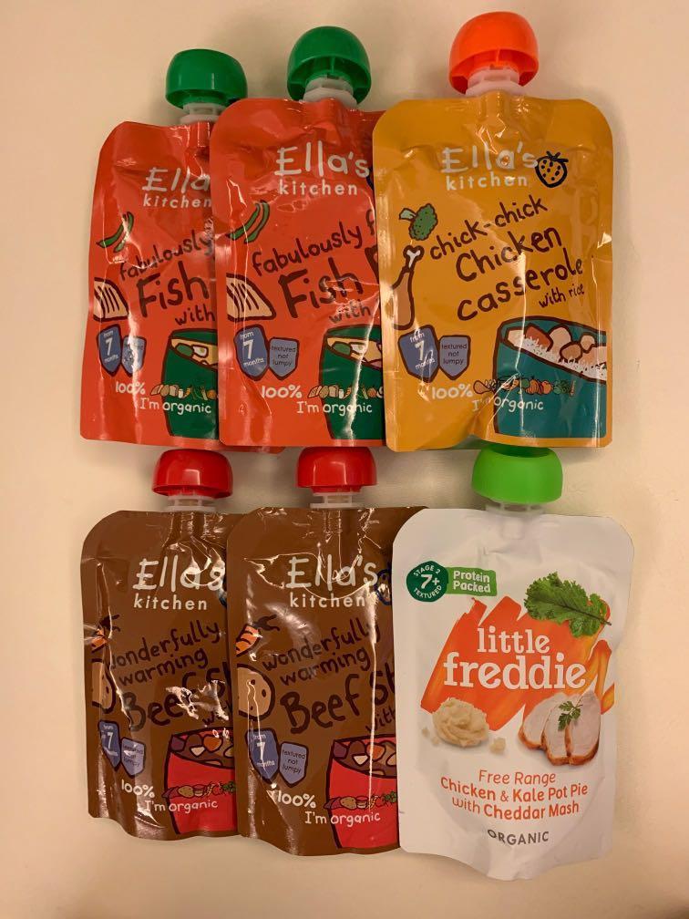 Ella's kitchen & little freddie BB Purée $80/6packs