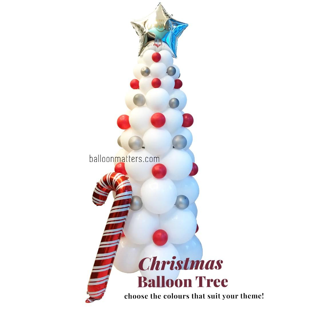 Free Delivery Christmas Balloon Tree